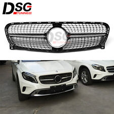 Grill for Mercedes Benz X156 GLA class GLA200 220 250 260 Diamond Style grille