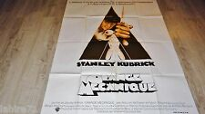 stanley kubrick ORANGE MECANIQUE !  affiche cinema rare 1er tirage 1971