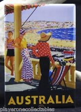 "Australia Vintage Travel Poster 2"" X 3"" Fridge / Locker Magnet."