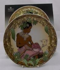 Villeroy & and Boch CHILDREN OF THE WORLD UNICEF No3 Africa plate NEW BOXED