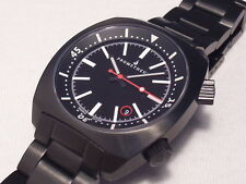 PROMETHEUS SEA LION BLACK DLC AUTOMATIC, SWISS MADE, SWISS ETA 2824-2