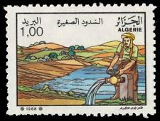 """ALGERIA 880 (Mi980) - National Agriculture Day """"Irrigation"""" (pf19922) NH"""