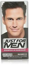 Just for Men Shampoo-In Hair Color, Real Black 55 (Pack of 12)