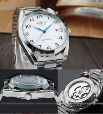 Men's Fashion Automatic Mechanical Stainless Steel Date Army Sport Wrist Watch