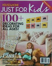 House & Home Just For Kids 100 + Decorating Ideas Wallpaper FREE SHIPPING sb