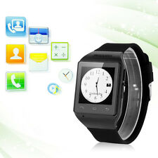 Touch Smart Wrist Watch Cell Phone Mobile MP3 FM Bluetooth 2G GSM SIM Unlocked