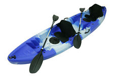 FAMILY DOUBLE TANDEM KAYAK. BRAND NEW FAMILY KAYAKS FOR SALE - BLUE AND WHITE