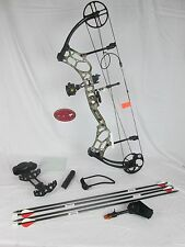 "2016 Bear Marshal 70# 23-30"" Realtree Camo Right Hand Compound Bow Package"