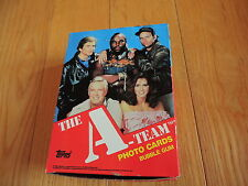 1983 Topps The A TEAM box Unopen Wax Pack OF cards High Grade RARE MR T