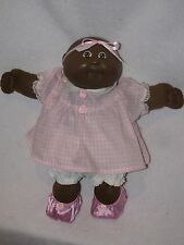 1982 Black Cabbage Patch Bald Headed Baby Girl Doll