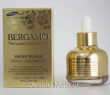 BERGAMO Luxury Skin Science Premium Gold Wrinkle Care Ampoule / Ampule 30ml