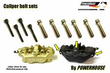 Kawasaki ZX 6 R 636 03-06 Stainless joint bolt & pin set front brake calipers