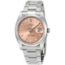 Rolex Oyster Perpetual Date Index Dial Mens Watch 115200PSO