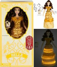 Belle Deluxe Interactive Doll with Singing Mrs. Potts Figure - 16'' Disney Store