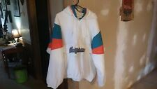 Vintage Miami Dolphins Starter 1/2 Zip Pull Over Hoodie