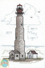 Cross Stitch Kit ~ Historic Lighthouse Cape May Light, NJ #HD215 OOP SALE!