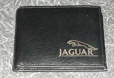Jaguar  Wallet Black Leather XJ, E TYPE, XF, F PACE, S TYPE, ( New Design)