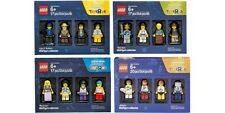 Lego Bricktober Minifigure Collection Toys R Us 2016 Exclusive Complete Set Of 4
