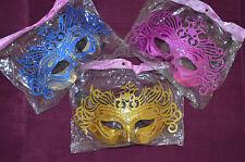 ACHTUNG!!! Die letzten drei Masken! FASCHING-VENEDIG-MASKE 3 Farben zur Auswahl