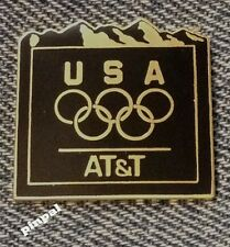 1998 Olympic Pin~undated~Nagano, Japan ~ Mountains ~ Sponsor~AT&T