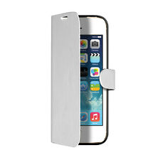 SBS BOOK CUSTODIA CASE per APPLE IPHONE 5 5G 5S BIANCA
