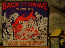 BACK FROM THE GRAVE Vol. 2 LP/'60s Garage Rock/Last Of The Garage Punk Unknowns