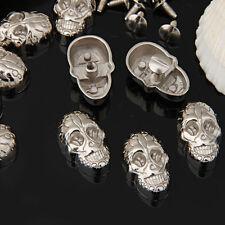 10 Stück Kupfer Nieten Motivnieten Ziernieten Skull Magnetisch Basteln DIY Cool