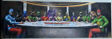 JUSTICE SOCIETY of AMERICA SMALLVILLE Limited Edition CANVAS JSA