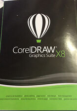 Corel CorelDraw Graphics Suite X8,  Full Retail Version