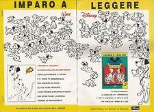 X0255 La Carica dei 101 - Libri Disney - Pubblicità 1992 - Vintage Advertising