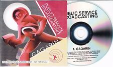 PUBLIC SERVICE BROADCASTING Gagarin 2014 UK 1-track promo test CD