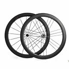 700C Clincher 50mm Carbon Wheels Straight Pull Racing Road Bike Wheelset