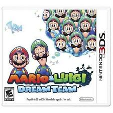 NINTENDO 3DS Mario & Luigi: Dream Team  BRAND NEW - FREE 1ST CLASS SHIP