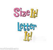 Amazing Designs LETTER IT! & SIZE IT! Embroidery Machine Software Combo