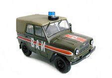 DIE CAST Uaz 469 military police urss 1:43 Legendary cars DeAgostini BAN YA3
