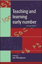 Teaching and Learning Early Number by Ian Thompson (9780335234110)