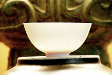Thinnest Chinese Porcelain Cup - Ming Yongle 永樂  White w. Anhua 暗花 Dragon Motif
