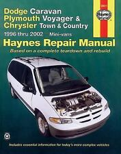 1996-2002 Haynes Dodge Caravan, Plymouth Voyager & Chrysler Town & Country Manua