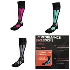 Performance Ski Socks Crivit Sports All Size Available(stability Frame)