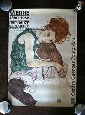 Poster Vienne 1880-1938 Naissance d'un siecle Centre Georges Pompidou - P44