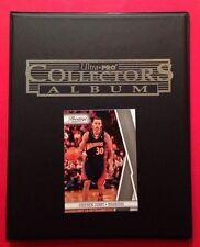 Stephen Curry Golden State Warriors Cards Collector Album/Binder Starter Kit +cd
