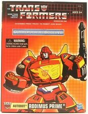 Transformers G1 Hot Rod Rodimus Prime Hasbro Commemorative VII 100% Authentic UK