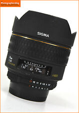 Sigma 14mm f2.8d Aspherical HSM messa a fuoco automatica focale fissa. Nikon Spedizione gratuita nel Regno Unito