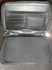 APPLE NEWTON 2000 2100 CASE 7 POCKETS LEATHER also fits Mobilepros and other PDA