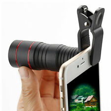 Clip-on 8X18 Optical Zoom HD Telescope Camera Lens For Universal Mobile Phone
