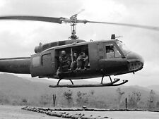 "Vietnam 1970 - UH-1 Iroquois Helicopter A.K.A. ""Huey"" Chu Lai Area"