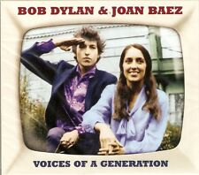 Bob Dylan & Joan Baez - Voices Of A Generation (2CD 2013) NEW/SEALED