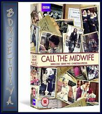CALL THE MIDWIFE - COMPLETE SERIES 1 & 2 PLUS XMAS SPECIAL ***BRAND NEW DVD ***