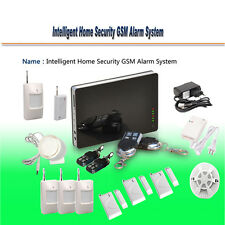 Wireless IOS/Android APP Remote Controlled GSM Home House Security Alarm System