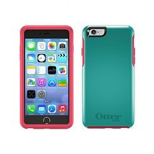 Genuine Otterbox Symmetry Case for Apple iPhone 6 6S Mint Green with Pink